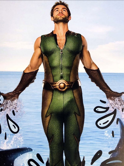Chace Crawford as Aquaman