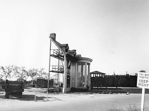 Set Front From Gone with the Wind in 1980