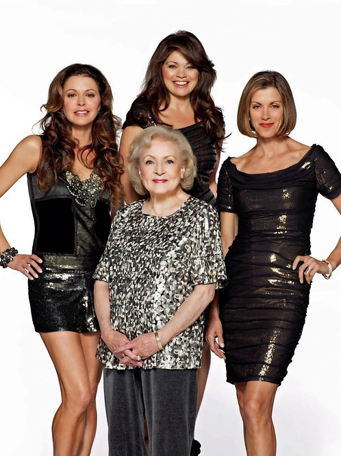 Cast of Hot in Cleveland in an Elegant Promo