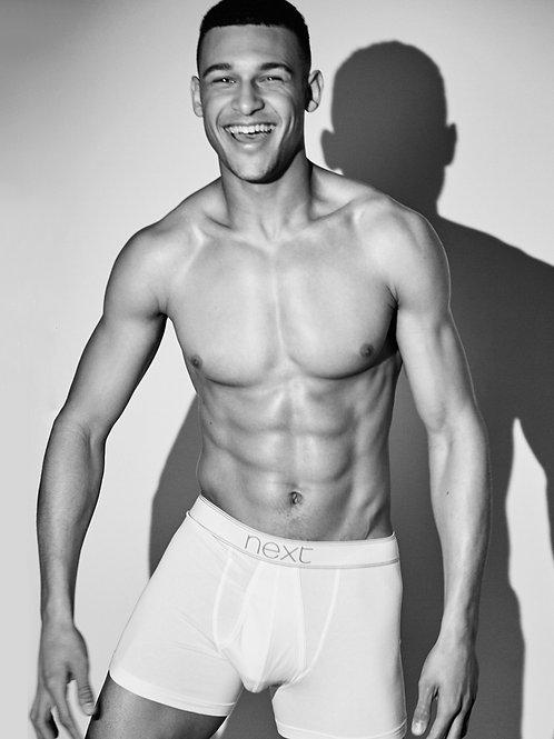 Brandon Davis Wearing White Underwear