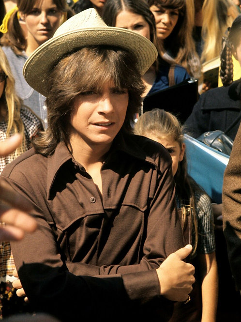 David Cassidy as Keith Partridge Wearing a Hat
