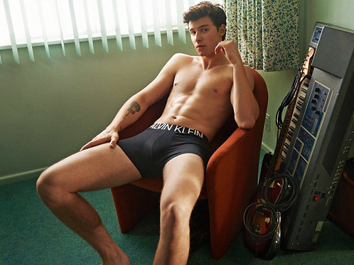 Shawn Mendes in a Calvin Klein Campaign