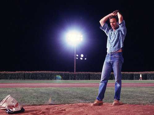 Kevin Costner Showing a Nice Packing in Field of Dreams