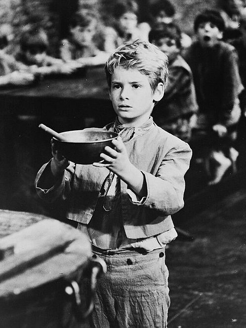 Mark Lester in the Movie Oliver