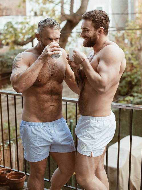 Coffee Together on the Balcony