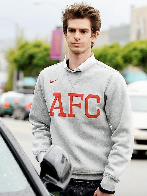 Andrew Garfield Wearing an AFC Sweatshirt