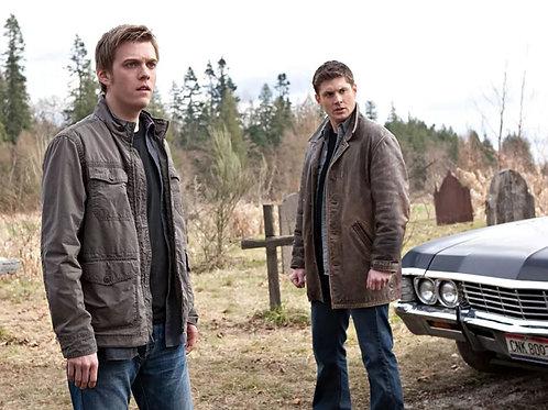 Jake Abel & Jensen Ackles in Supernatural