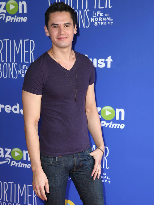Travis Tope Wearing Jeans & Tshirts