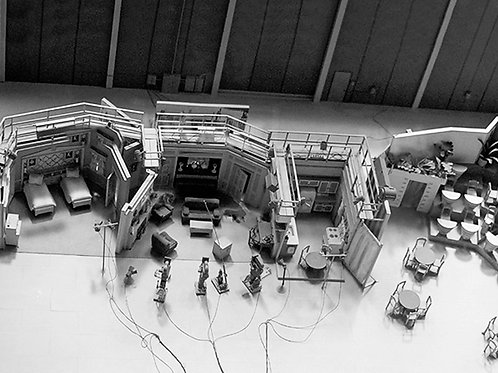 A Fascinating Overhead Shot of the I Love Lucy Set