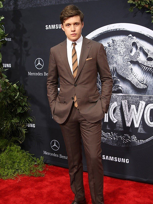 Nick Robinson at the Premiere of Jurassic World