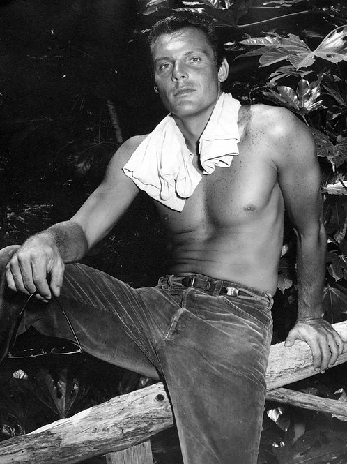 Shirtless Young Adam West