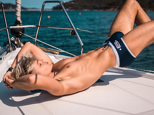 Blonde Hunk on a Boat