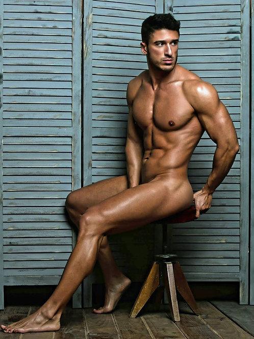 David Ruben Sitting by the Shutters