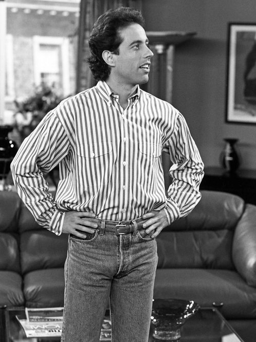 Jerry Seinfeld Bulging in his Tight Jeans