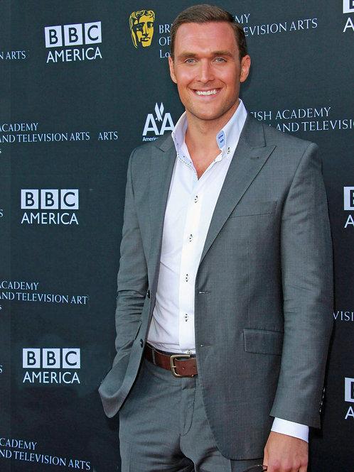 Alex Rodriguez Bulging in his Grey Dress Slacks