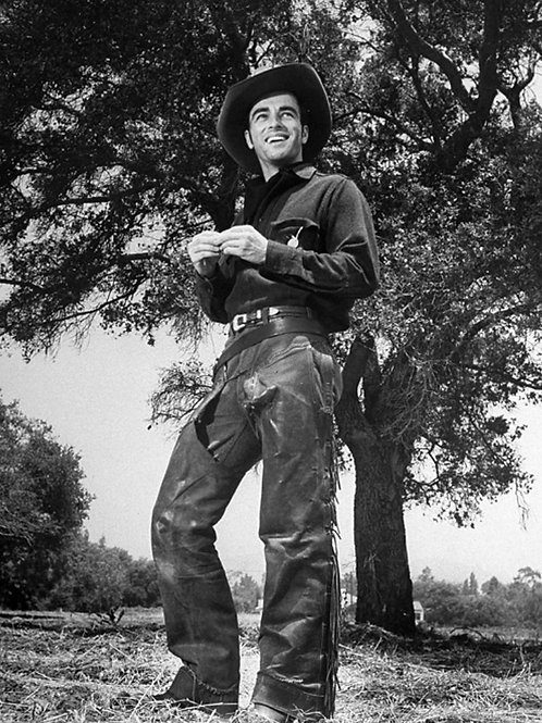 Montgomery Clift as a Cowboy in Red River 1948