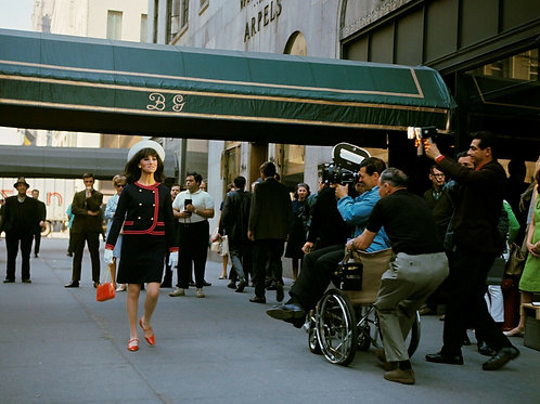 Filming Marlo Thomas in That Girl