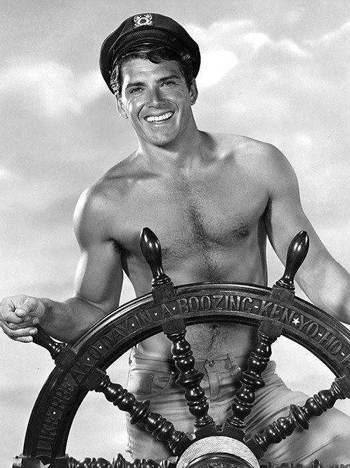 Van Williams at the Wheel