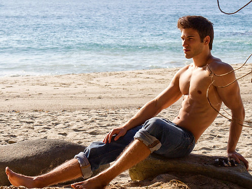 Nathaniel Sherman by the Beach