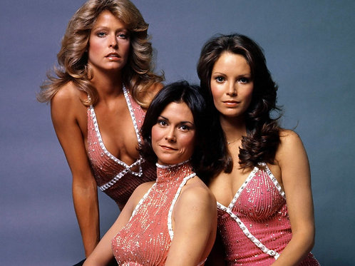 3 Original Charlie's Angels