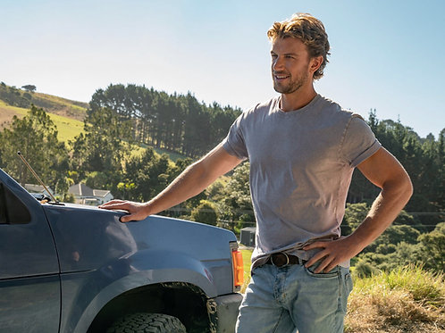 Adam Demos by his Truck