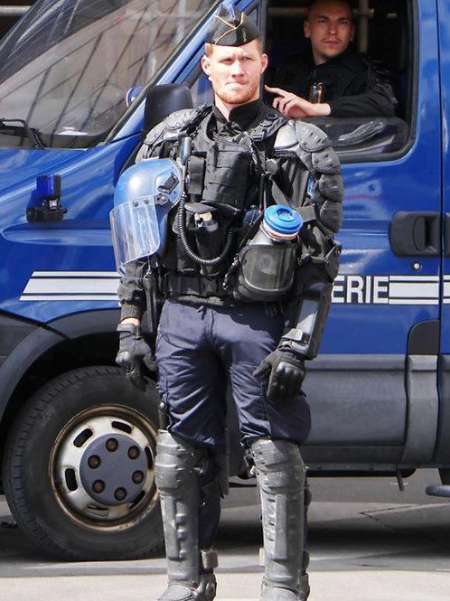 Bulging SWAT Member
