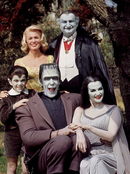 Color Cast Of the Munsters