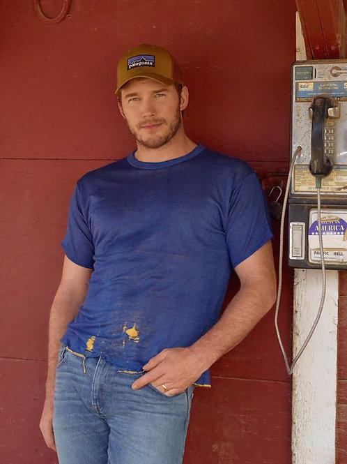 Chris Pratt by a Pay Phone
