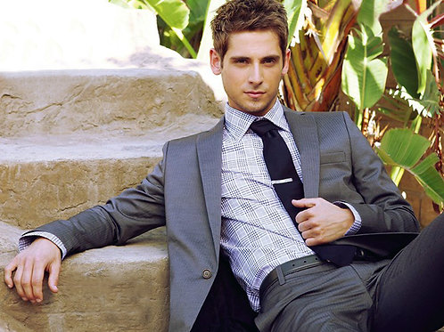 Jean Luc Bilodeau Relaxing on the Steps