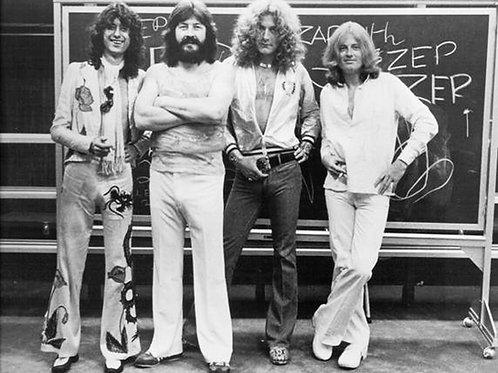 Led Zeppelin & John Bonham Bulging in a Publicity Shot