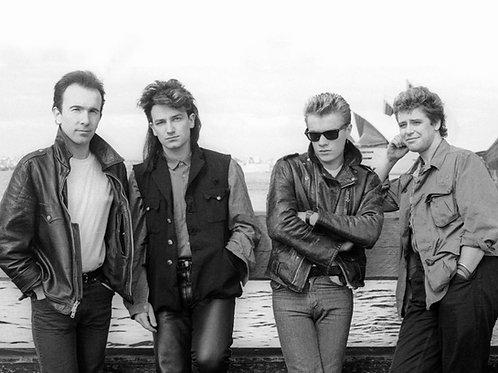 Adam Clayton & the Band U2 Bulging in Thier Tight Pants