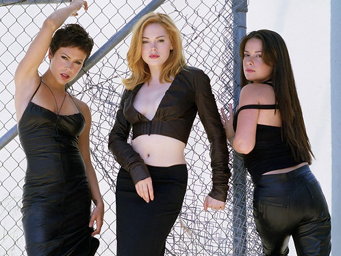 Charmed Promo for Season 6 with the Girls Dressed in Black