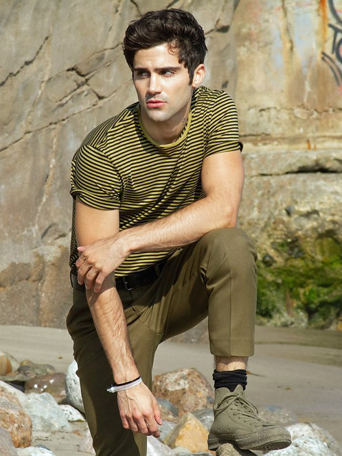 Max Ehrich by the Cliffs