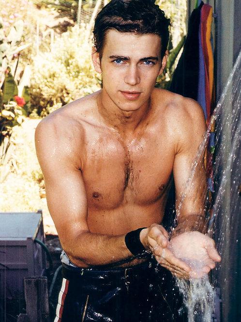 Hayden Christensen Washing his Hands