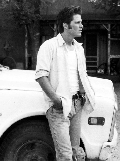 Michael Schoeffling in Jeans