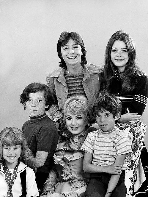 Cast of the Partridge Famliy in 1970