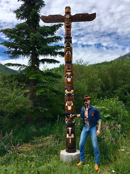 By the Totem Pole Base