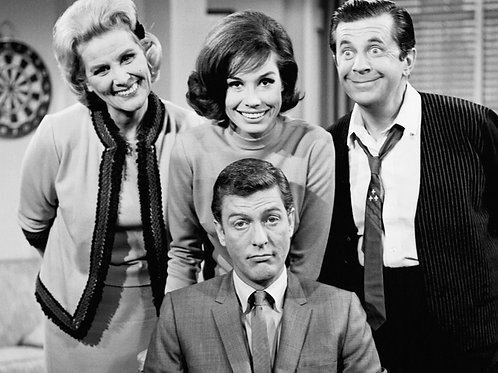 Cast of the Dick Van Dyke Show at the Office