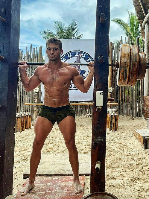 Lifting Weights Outdoors