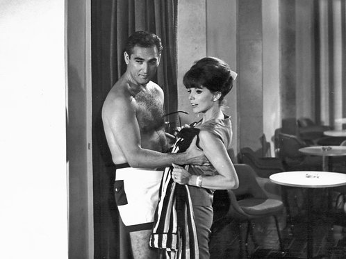 Jacques Bergerac with Joan Collins