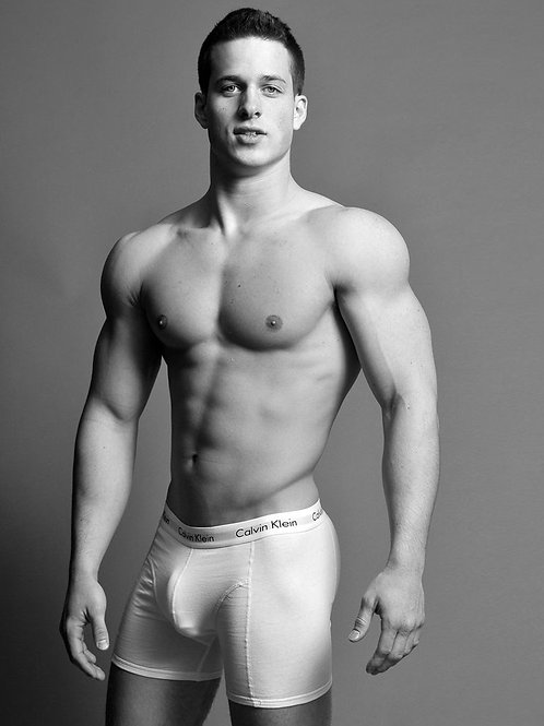Nick Sandell Tenting his Boxer Briefs