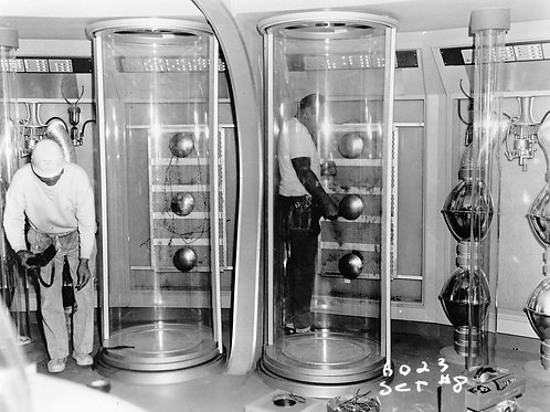 Behind the Scenes Crew Preparing the Freezing Tubes in the Jupiter 2