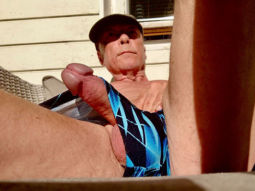 Grandpa Busting Out of his Swimsuit