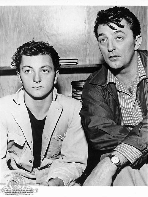 Robert & James Mitchum