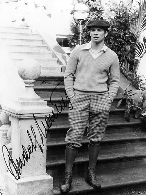Rudolph Nureyev Bulging in Plaid Shorts