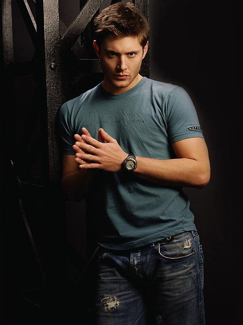 Jensen Ackles Wearing Old Jeans