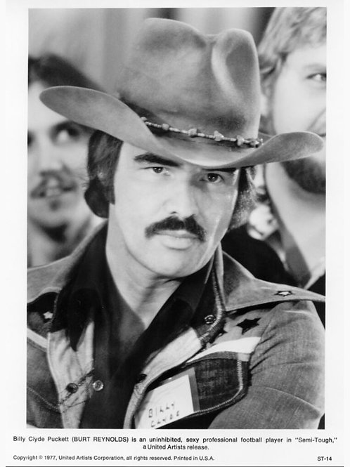 Burt Reynolds in Semi Tough