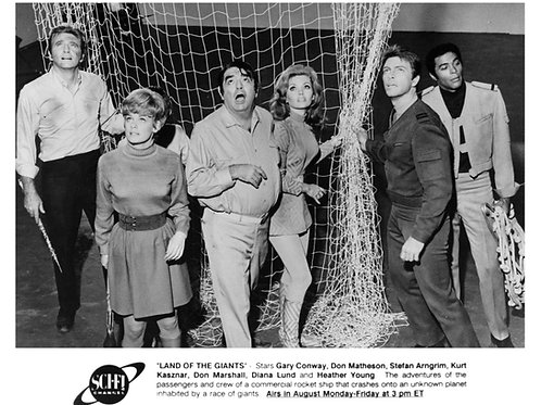Cast From the 60's Show Land of the Giants