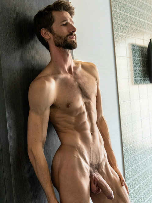 Bearded Man Totally Ripped