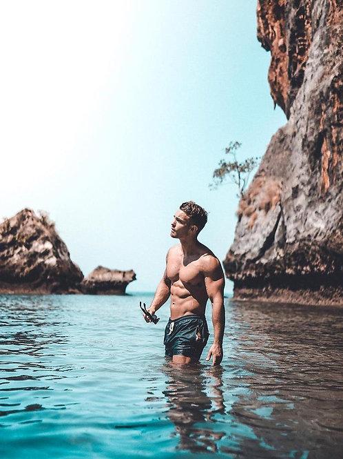 Swimming Below the Cliffs